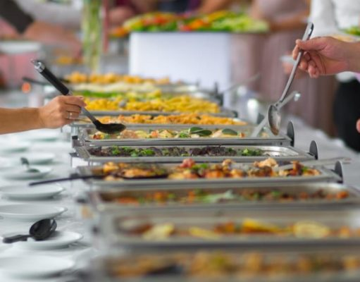 Corporate catering lunch